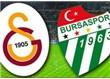 Yine puan kaybı : Galatasaray : 2   - Bursaspor :2