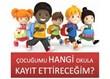 Okul Öncesi Eğitim ve Okul Seçimi