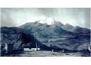 Erciyes'in tepesinde kırık ambar