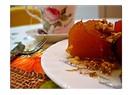 Kek kalıbı şeklinde kabak tatlısı