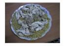 Sarmısaklı tavuklu bulgur  pilavı