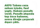 AKPS Takımı sarı kart gördü !