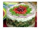 Merih'in yoğurtlu salatası