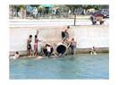 Sulama kanallarındaki yaz tatili