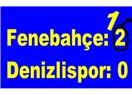 Fenerbahçe'nin Denizli'de sayılmayan golü hakemi yiyebilirdi