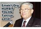 Emekli org. Hurşit Tolon tahliye edildi