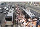 Toplu taşımada metrobüs rezaleti