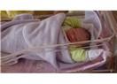 Blog arkadaşımız bebeğini kucakladı...