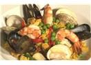 Geleneksel  İspanyol yemeği:Paella