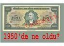 Paranın üzerindeki resmin 1950'den sonra neden değiştiği konusunda bir varsayım