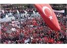 Aydınlık yarınlar için demokrasi ve milli egemenlik mitingi