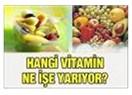 Sağlık için sihirli maddeler-1: Vitaminler