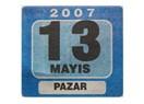 Tarih: 13 Mayıs 2007 Pazar