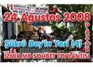 İzmir Milliyet blog yazarları sohbet toplantısı (2)