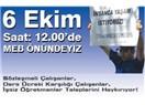 İşsiz Öğretmenler 6 Ekim'de MEB önünde miting yapacak !