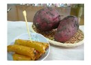 Satsumaımo (yum) tatlı patates