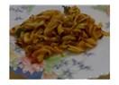 Kıymalı, maydanozlu, domates soslu...