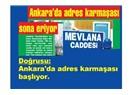 Ankara'da 75.000 sokak tabelası değişecekmiş