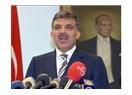 Abdullah Gül Cumhurbaşkanı olmalı