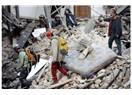 İtalya' da meydana gelen deprem..