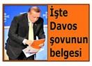 İşte Davos şovunun belgesi