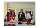 Başkan Türk kursiyerleri ziyaret etti...
