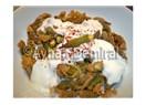 Yoğurtlu bamya kızartması: muhteşem tat
