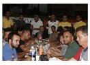 Akdeniz'deki, sürat tutkunları iftar yemeğinde buluştu...