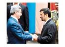 Ahmadinecatın ilk yabancı misafiri kim?
