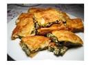 Kanada usulü Ispanakli ve Mozarella'li börek