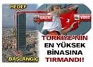 Örümcek adam Alain Robert Istanbul'da Avrupa'nın en yüksek binasına tırmandı