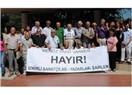 """İzmirli yazar, şair ve sanatçıların """"hayır"""" toplantısı"""