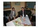 Bahman Hüseyin'den Başkan Özcan'a ziyaret...