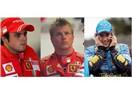 Massa, Raikkonen ve Alonso
