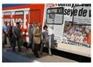 Hürriyet treni Mersin'de büyük ilgi gördü...