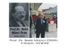 Prof. Dr. Bekir Münci ORAN
