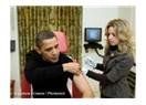 Aaa! Obama da aşı oluyor...