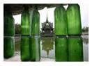 Etiketlenmemiş hayatımın cam şişesi