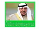 """Suudi Amerika """"Kral Faysal Uluslararası Ödülü"""" bizim..."""