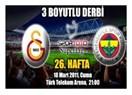 Fenerbahçe Galatasaray'ı YİNE YENDİ!!! (!)