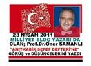 """""""TÖDEF"""" Tüketici Örgütleri Federasyonu Genel Başkanı, Prof. Dr. Öner Samanlı Anıtkabir'de."""