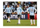 Ve Arjantin kupaya veda etti...