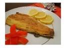 Somon balığı tavası