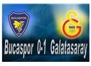 Galatasaray Bucasporu da 1-0 geçti.