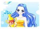 Mavi saçlı deli kız