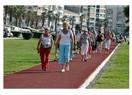 Hem Ali Sami Yen Stadına, hem yürüyüşe spora veda gibi oldu(!)