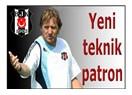 Beşiktaş'a yeni teknik patron