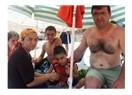 Engelliler altınkum plajında buluştu.