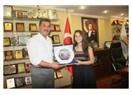 Bir Şarkısın Sen Şebnem'den Başkan Tuna'ya ziyaret