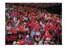 Binlerce partili Cevahir Kongre Merkezi'nde buluştu